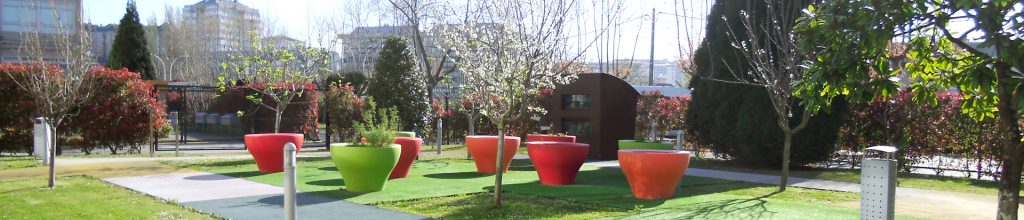 Therapeutic garden.