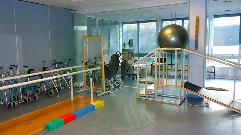 Day Care Centre La Milagrosa. Physiotherapy room