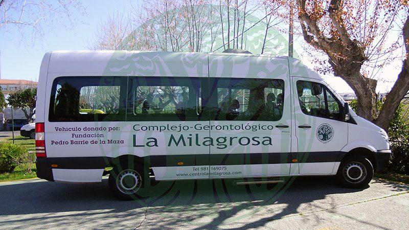Residencia La Milagrosa. Transporte adaptado