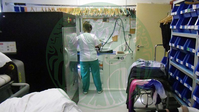 Centro de Dïa La Milagrosa. Servizo de lavandería