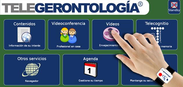 Telegerontología