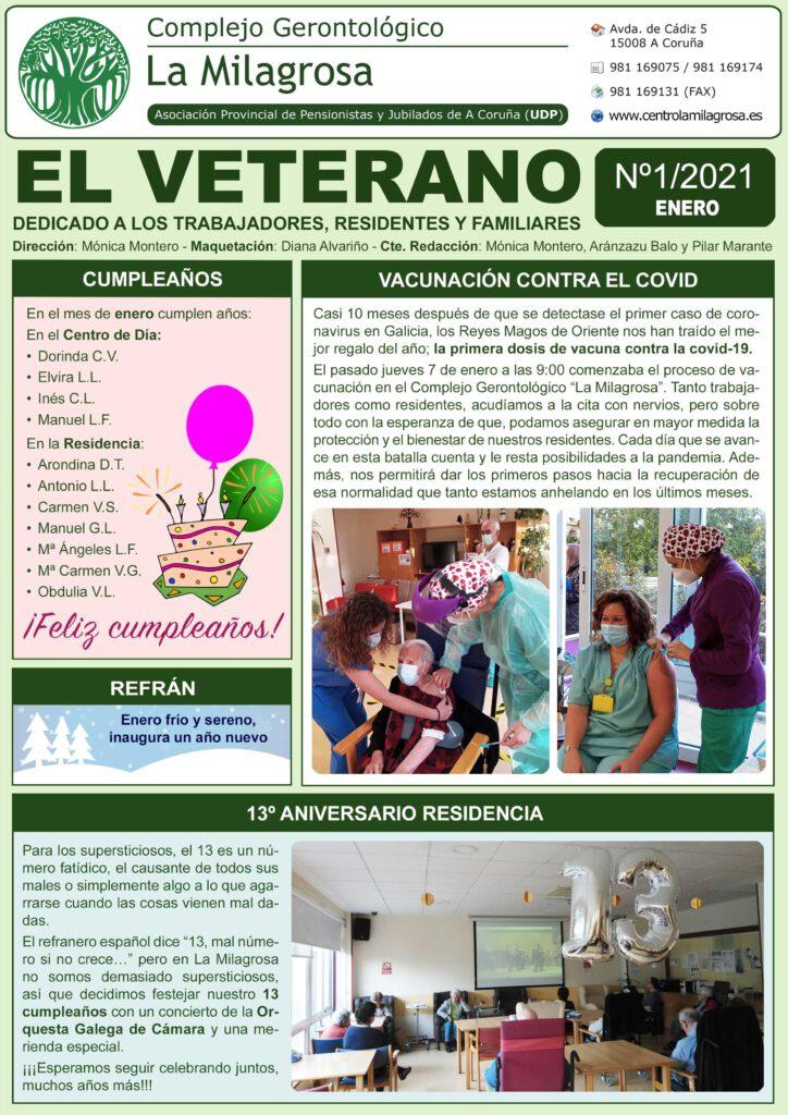 Boletín informativo El Veterano