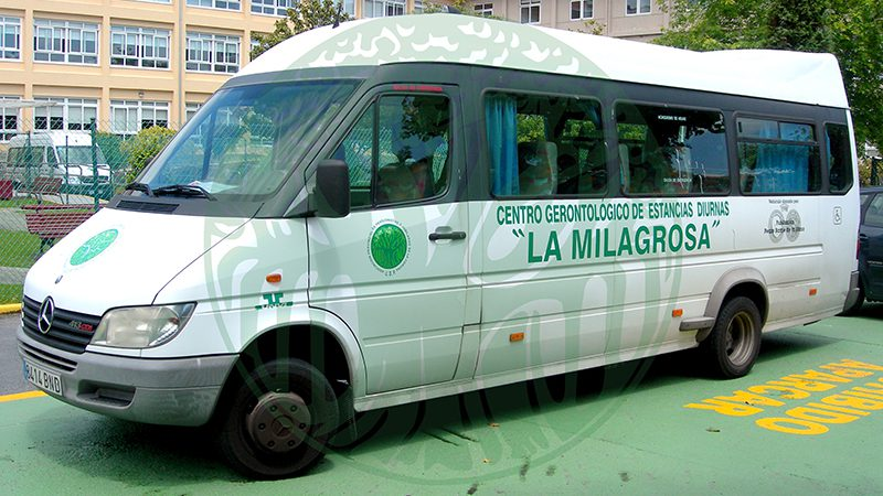 Day Care Centre La Milagrosa. Adapted transport