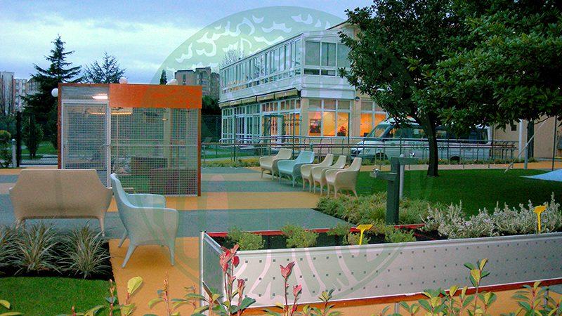 Residence La Milagrosa. Therapeutic garden